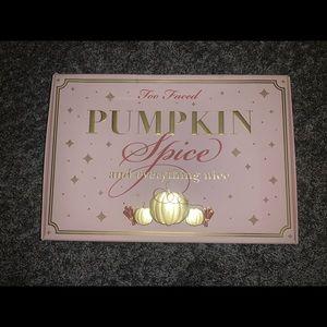 Too Faced pumpkin spice set